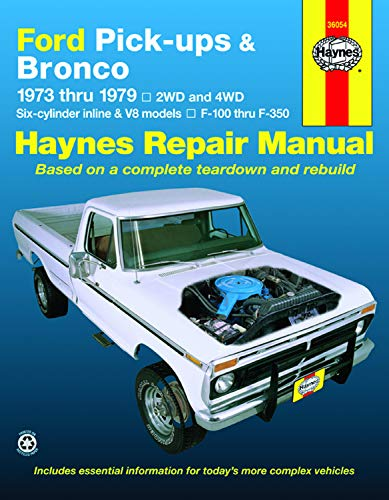 Ford Pick-Up and Bronco, 1973-79