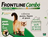 FRONTLINE COMBO CHAT - 6PIP - ANTI-PUCE, ANTI-TIQUE