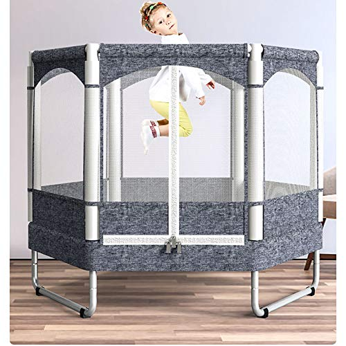 Fitness Trampoline Kids Baby Mini Rebounder Trampoline with Fence for Indoor Outdoor Exercise Jumper Max Load 150kg 3