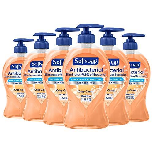 Softsoap Antibacterial Liquid Hand Soap, Crisp Clean - 11.25...