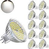 Yafido MR16 GU5.3 Ampoules LED 12V 5W Blanc froid Remplacer 35W Halogène...