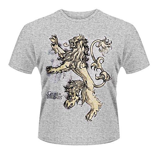 Game Of Thrones - Lion (T-Shirt Unisex Tg. L) [Italia]