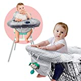 Shopping Cart Cover, 2 in 1 Baby Grocery Cart Seat Cover and High Chair Cover for Kids and Toddlers