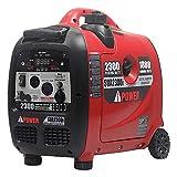 A-iPower 2300-Watt Inverter Generator with...