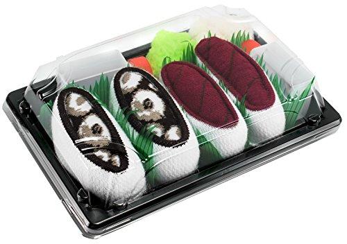 Rainbow Socks - Donna Uomo Calzini Sushi Tonno Octopus - 2 Paia - Taglia 41-46