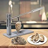 Upgrade Stainless Steel Oyster Shucker Tool Set, Oyster Clam Opener Machine, Hotel Buffets and Homes...