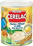 Nestlé Nestle Cerelac - Miel Et Du Blé Avec Le Lait 400G (A Partir De 1 An)