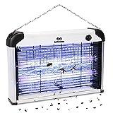 infinitoo Lampe Anti Moustique, 20W UV Tueur d'Insectes Électrique Anti...