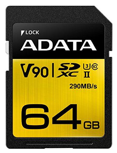 ADATA Premier One (64GB) Class 10 UHS-II SDXC Speicherkarte