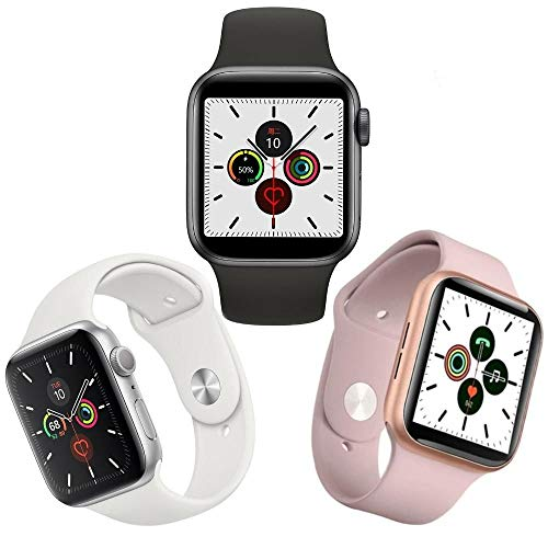 Relógio Inteligente Smartwatch Iwo 11 40mm Rose (preta)