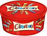 A welcome chocolate assortment that's just in time for the holidays, Mars Celebrations are sure to please anyone's sweet tooth. With varieties like Snickers, Bounty, and Galaxy, there's a bite-sized chocolate for everyone! Celebration's are a Christm...