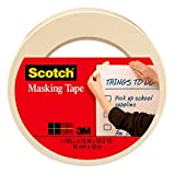 Scotch Tan Home and Office Masking Tape,...