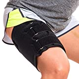 Hamstring Compression Sleeve Recovery Support – Non-Slip Groin Wrap for Adductor Tendonitis,...