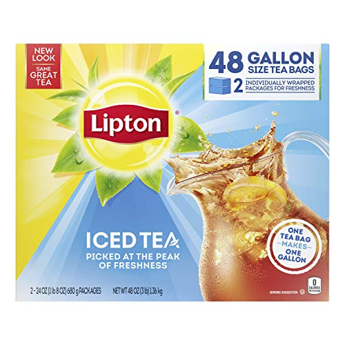 Lipton Gallon-Sized Iced Tea Bags Picked At The Peak of...
