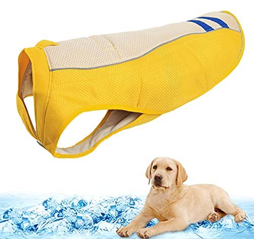 Mosucoirl Chaleco de enfriamiento para perros Abrigo de verano para...