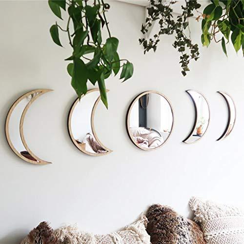 5 Pieces Scandinavian Natural Decor Acrylic Wall Decorative...