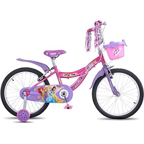 Hero Disney 20T Princess Junior Cycle, Girl's, 11-inches (Capri Pink)