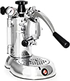 La Pavoni PSC-16 Professional Stradivari Lever Espresso Coffee Machine, 38-Ounce Boiler Capacity, Recessed Power Switch and Power Button