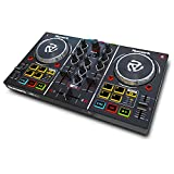 Numark Party Mix | Complete DJ Controller Set for Serato DJ with 2 Decks, Party Lights, Headphone...