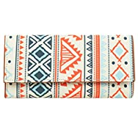Printed Clutch For Women & Girls, Ideal Gift For Ladies Easy To Carry,Innovative Design,Designer Clutch, Design Printed on Canvas, High Quality Printed Canvas, Premium Quality Leather, Other Body Features: 1 Zipped Pockets, 1 Open Pocket, 1 Coin Pock...
