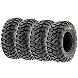 Set of 4 SunF A043 XC Racing ATV UTV Radial Sport Tires 26x9R12 Front & 26x11R12 Rear,...