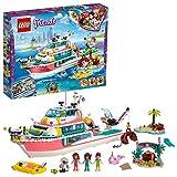 LEGO-Friends Le bateau de sauvetage pour Fille et Garçon à Partir de 7 Ans et...