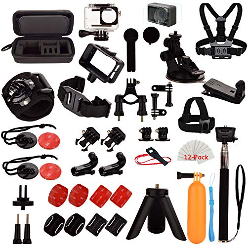 Kit di Accessori per DJI OSMO Action, set di Accessori di Estensione per OSMO Action Camera e la maggior parte degli altri Action Camera