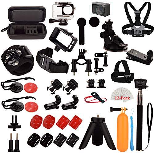Kit di Accessori per DJI OSMO Action, set di Accessori di Estensione per OSMO Action Camera e la maggior parte degli altri Action Camera