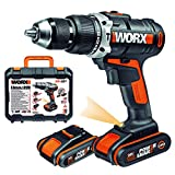 Worx WX372 Perceuse à Percussion Électrique sans fil 20 volts/2 amps...