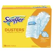 Swiffer Dusters Surface Refills, Ceiling Fan Duster, Unscented, 18 Count