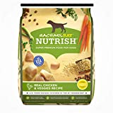 Rachael Ray Nutrish Natural Dry Dog Food, Real Chicken & Veggies Recipe, 28 lb