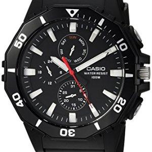 Casio Men's Sports Analog-Quartz Watch with Resin Strap, Black, 21 (Model: MRW-400H-1AVCF) 31