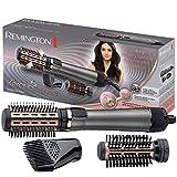 Cepillo de aire giratorio Remington Keratin Protect AS8810, 1000 W, cerdas suaves (40/50 mm), 2 ...