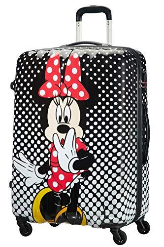 American Tourister Disney Legends Spinner L Valigia per bambini, 75 cm, 88 L, Multicolore (Minnie...