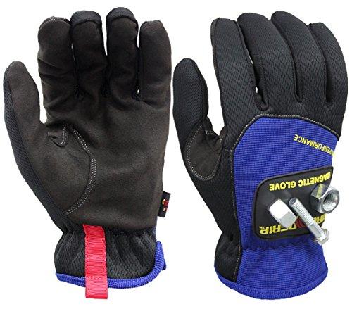 Magnogrip 006031Pro Performance magnetico guanti con tecnologia touchscreenMedium, 006-055