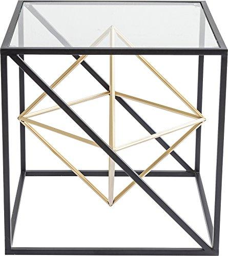 Kare Design Tavolino, Nero, 45 x 45 x 45 cm