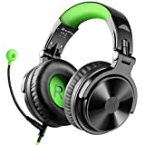 OneOdio Gaming Headsets with Boom Mic, Over Ear Headphones Wired Stereo Sound for Gaming Chatting, 50mm Driver Share-Port Soft Earmuffs for PS4 Xbox Cell Phone PC Laptop Nintendo Switch