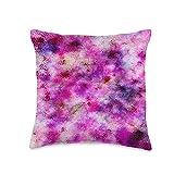 Kristalin Davis Splotchy 1 Throw Pillow, 16x16, Multicolor