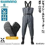 シマノ(SHIMANO) ウェーダー XEFO・ドライシールドウェーダー (中丸チェストハイ・カットピンフェルトソールタイプ) ZT WA-238P