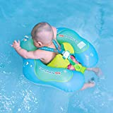 Free Swimming Baby Bouée de natation gonflable pour bébé - Aide bébé à apprendre à nager, avec pompe, pour les enfants de 3 à 36 mois