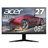 Acer ゲーミングモニター SigmaLine 27インチ KG271Dbmiix 0.6ms 75Hz TN FPS向き フルHD FreeSync フレームレス HDMIx2 スピーカー内蔵 ブルーライト軽減