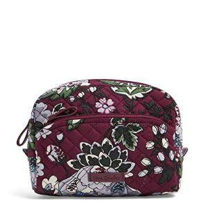 Vera Bradley Women's Signature Cotton Medium Cosmetic Makeup Organizer Bag 1