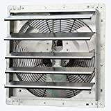 iLiving - 18' Wall Mounted Exhaust Fan - Automatic Shutter - Variable Speed - Vent Fan For Home Attic, Shed, or Garage Ventilation, 1736 CFM, 2600 SQF Coverage Area