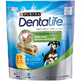 Purina DentaLife Made in USA Facilities Toy Breed Dog Dental Chews, Daily Mini - 58 ct. Pouch, 17.1 oz. (00017800176293)