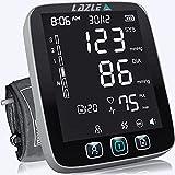 LAZLE Blood Pressure Monitor - Automatic Upper Arm Machine & Accurate Adjustable Digital BP Cuff Kit - Largest...