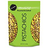 Wonderful Pistachios, No Shells, Roasted & Salted, 24 Ounce Resealable Bag