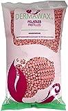 1 kg Rosa Cera Ceretta Brasiliana perle di cera depilatoria senza strisce Cera depilatoria calda professionale per uomo e donna a bassa temperatura depilazione indolore
