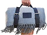Soft Picnic Blanket, Beach Blanket, Extra Large, Folding, Travel, Waterproof, Outdoor, Carry Tote, Camping, Stadium mat