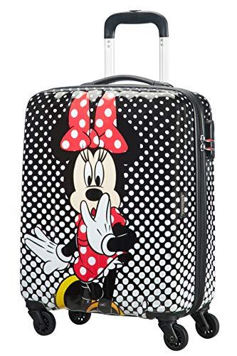 American Tourister Disney Legends Spinner S Valigia per bambini, 55 cm, 36 L, Multicolore (Minnie...