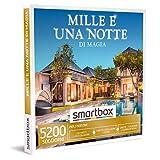smartbox - Cofanetto Regalo Mille e Una Notte di magia - Idea Regalo per Lui e Lei - 1 o 2 Notti con Colazione o Cena o Relax per 2